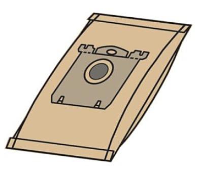 Sáčky do vysavače Electrolux Universal Bag papírové - kompatibilní se sáčky typu S-bag