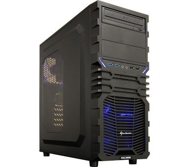 HAL3000 Battlebox Essential IEM Certified by MSI/ Intel i5-7400/ 16GB/ GTX 1060/ 120GB SSD + 1TB HDD/ DVD/ bez OS + DOPRAVA ZDARMA
