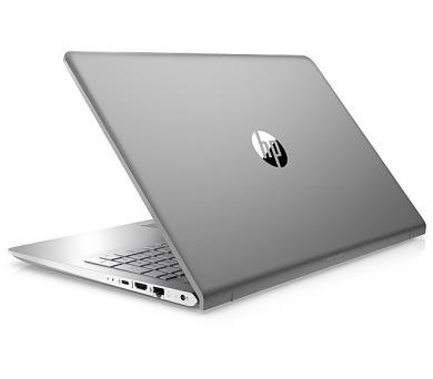 """HP Pavilion 15-cc506nc/Intel i5-7200U/8GB/256GB SSD M.2/GF 940MX 4GB/15,6"""" FHD/Win 10/stříbrná (1VA05EA#BCM)"""