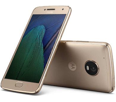 "Motorola Moto G Plus 5.generace Dual SIM/5,2"" IPS/1920x1080/Octa-Core/2,0GHz/3GB/32GB/12Mpx/LTE/Android 7.0/Gold (SM4470AJ1N7)"
