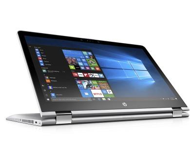 """HP Pavilion x360 15-br009nc/Intel i5-7200U/8GB/128GB SSD M.2 + 1TB/AMD Radeon 530/15,6"""" FHD/Win 10/stříbrný"""