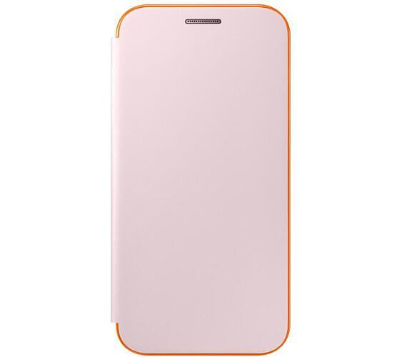 Samsung Neon Flip Pouzdro EF-FA320PLE pro Galaxy A3 2017 Pink + DOPRAVA ZDARMA