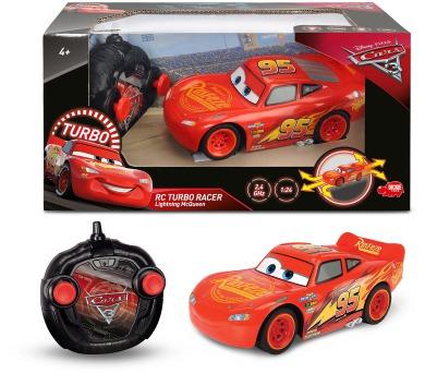RC Cars 3 Turbo Racer Blesk McQueen 1:24 + DOPRAVA ZDARMA