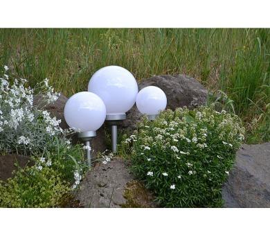 Zahradní solární LED osvětlení koule 25