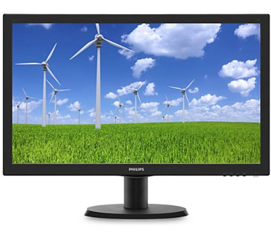"Philips LCD 243V5LSB5 23,6""wide/1920x1080/1ms/10mil:1/250cd/VGA/DVI/HDMI/LED"