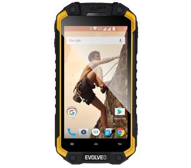 EVOLVEO StrongPhone Q9, vodotěsný odolný Android Quad Core smartphone, Dual SIM