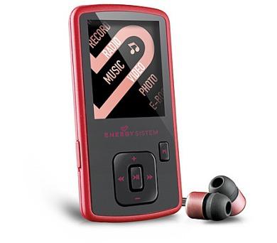 ENERGY MP4 Slim3 Ruby Red (8GB + DOPRAVA ZDARMA