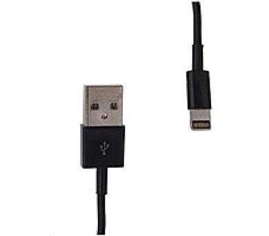 Whitenergy napájecí kabel pro iPhone 5 (200cm