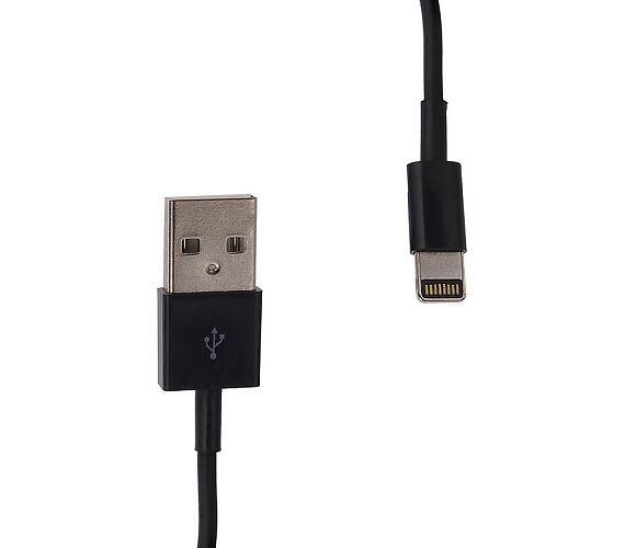 Whitenergy napájecí kabel pro iPhone 5 (30cm