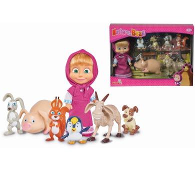 Máša a medvěd Panenka Máša a její zvířecí kamarádi