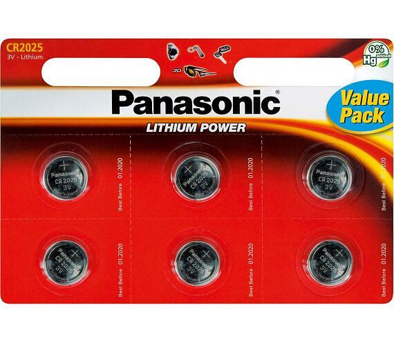 CR-2025 6BP Li Panasonic