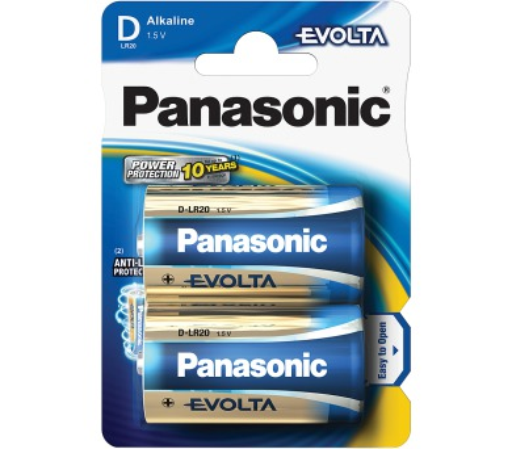 Panasonic LR20 2BP Evolta D 2ks