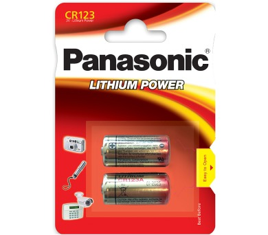 CR123 2BP Li Panasonic