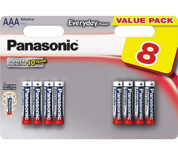 Panasonic Ev Power AAA 8ks