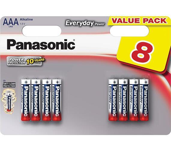 LR03 8BP AAA Ev Power alk Panasonic