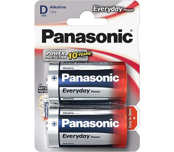 Panasonic LR20 2BP Ev Power D 2ks
