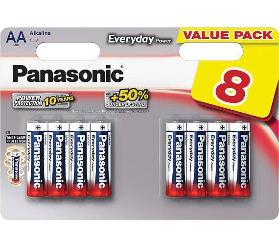 LR6 8BP AA Ev Power alk Panasonic
