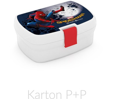 Karton P+P Box na svačinu Spiderman 1-05117