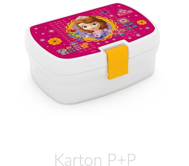 Karton P+P Box na svačinu Sofia the First 1-53817