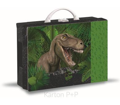 Karton P+P Lamino kufřík Junior hrana 40 T-rex 1-66117