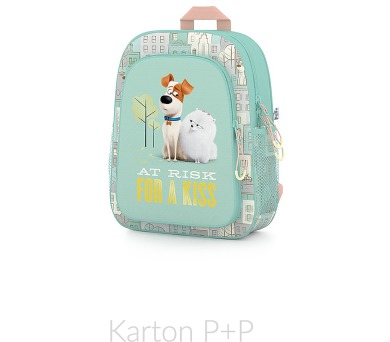 Karton P+P Batoh dětský předškolní Pets 1-82017