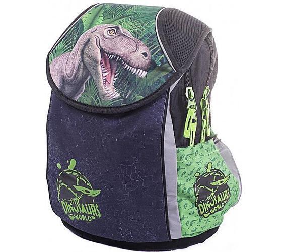 Karton P+P Školní batoh PLUS T-rex 3-03317 + DOPRAVA ZDARMA