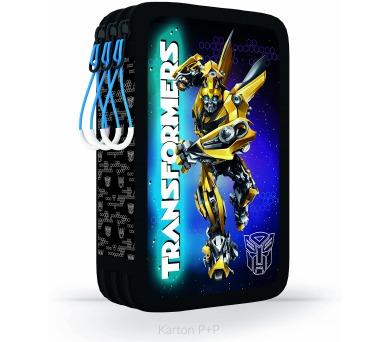 Karton P+P Penál 3patrový bez náplně Transformers 3-14517