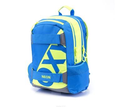 Karton P+P Anatomický batoh OXY Sport I. NEON LINE Blue 3-17517 + DOPRAVA ZDARMA