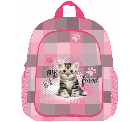 Karton P+P Batoh dětský předškolní junior kočka 3-20617