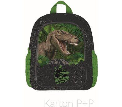 Karton P+P Batoh dětský předškolní junior T-rex 3-20717