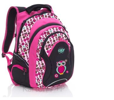 Karton P+P Anatomický batoh OXY Fashion Pink Owl 3-27917 + DOPRAVA ZDARMA