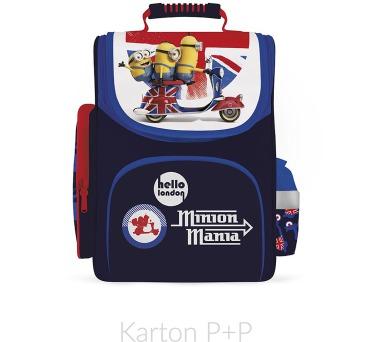 Karton P+P Školní batoh ERGO KIDDY MINIONS II. 3-391 + DOPRAVA ZDARMA