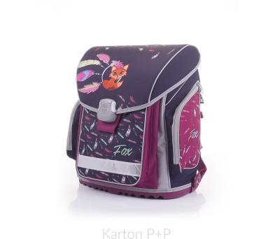 Karton P+P Školní batoh PREMIUM FLEXI Premium Fox 3-40017 + DOPRAVA ZDARMA