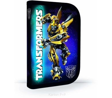 Karton P+P Penál 1patrový s chlopní Transformers 3-48917