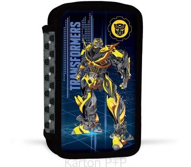 Karton P+P Penál 2patrový s náplní Transformers 3-498