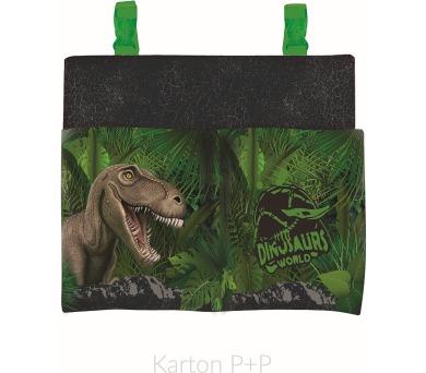 Karton P+P Kapsář na lavici junior T-rex 3-55817