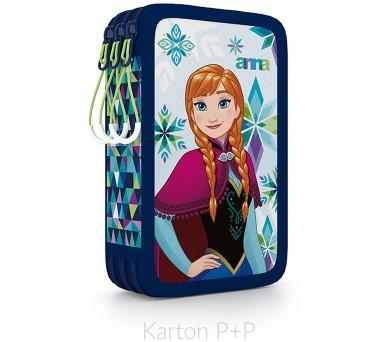 Karton P+P Penál 3 p. prázdný Frozen 3-62317