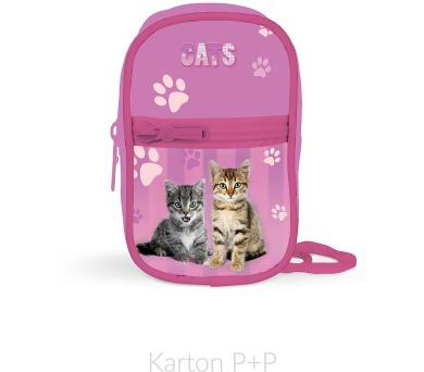 Karton P+P Kapsička na krk Junior kočka 3-629