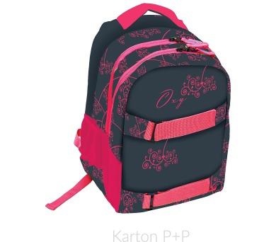 Karton P+P Anatomický batoh OXY One Pink 7-70317 + DOPRAVA ZDARMA