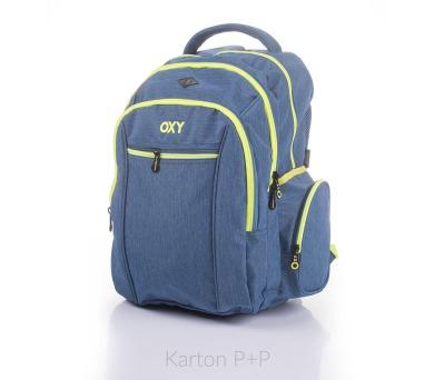 Karton P+P Anatomický batoh OXY Two TWO Mentol 7-72017 + DOPRAVA ZDARMA