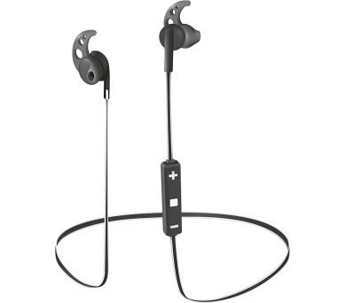 TRUST Sila Wireless Earphones - black/white