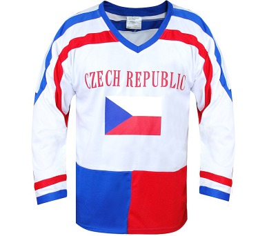 Hokejový dres ČR 7 SportTeam + DOPRAVA ZDARMA