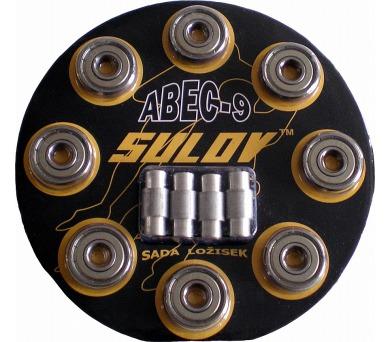 SULOV ABEC 9 - Chrom/8ks