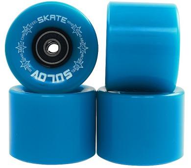 Kolečka Penny board NEON BLUE 60 x 45mm 85A Sulov