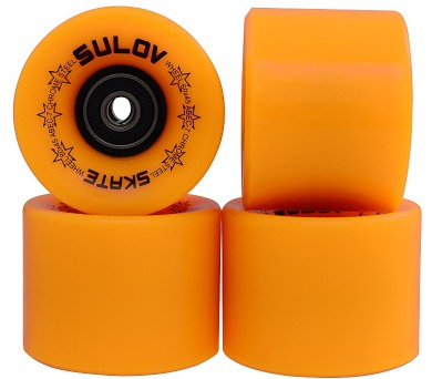 Kolečka Penny board MAT ORANGE 60 x 45mm 85A Sulov