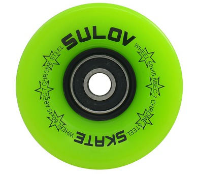 Kolečka Penny board LEMON GREEN 60 x 45mm 85A Sulov