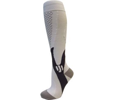 Kompresní sportovní ponožky CHECKER Rulyt