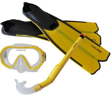 Potápěčský set CALTER KIDS S06+M168+F41 PVC Rulyt + DOPRAVA ZDARMA