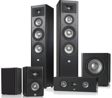 JBL Studio 280 Pack Black + DOPRAVA ZDARMA