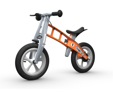 FirstBIKE STREET orange + DOPRAVA ZDARMA